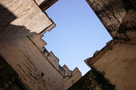 城堡, 城堡城堡, 骑士的城堡, 中世纪, 墙上, 堡垒, 意大利