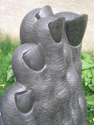 艺术, 脚, 塑料, 足艺, 脚雕塑