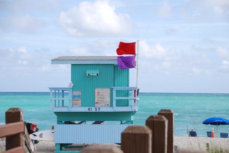 迈阿密, 海滩, 海