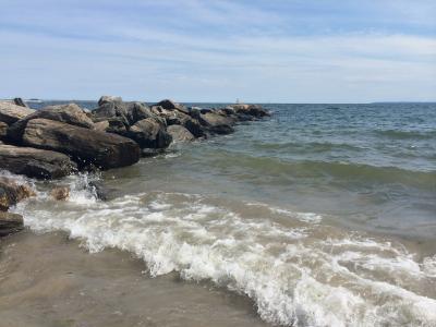 海洋, 波, 海岸, 夏季, 自然, 户外, 水