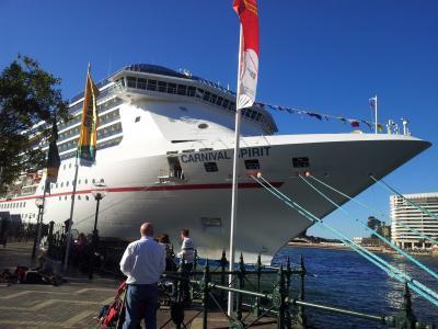 邮轮, 小船, 悉尼, 海港, 澳大利亚, 悉尼港, 端口