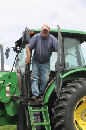 农场, 农民, 拖拉机, 农业, 农业, 农村, 字段
