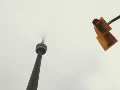 建筑, 建设, 业务, 城市, 夏时制, 雾, 有雾