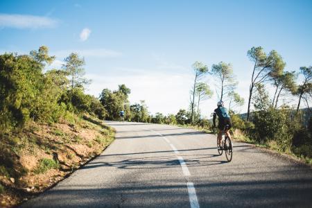 长距离骑自行车者