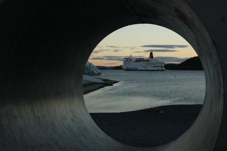 挪威, 奥斯陆, 峡湾, 天星渡轮码头, maritim