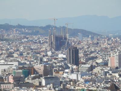 建筑, 建筑, 城市, 巴塞罗那, 视图, 城市的全景图, 城市中心