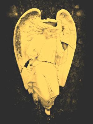 天使, 石头, 坟墓, 墓碑, 破碎, 公墓, 图