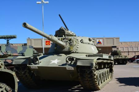 盔甲, 军事, 博物馆, 堡, 德克萨斯州, 战斗, 坦克