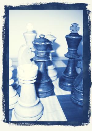 象棋, 棋子, 国王, 女士, 国际象棋棋盘, 策略游戏, 战略