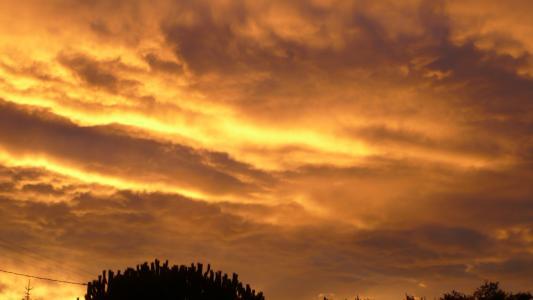 云彩, 奥罗拉, 天空