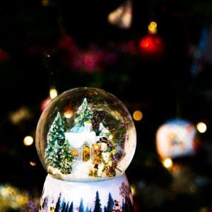 圣诞节, 球, 显示, 装饰, 饰品, 模糊, 散景