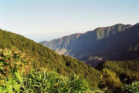 马德拉岛, 高地, 山脉, 首脑会议, levada, 徒步旅行, 放松