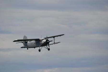 安东诺夫, 双层, 螺旋桨飞机, 飞机, 航空, 而作, 飞行