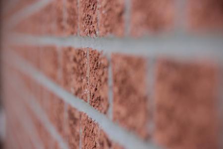 墙上, 砖, 线条, 焦点, 建筑