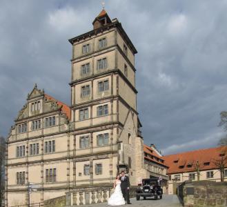 德国, lemgo, 建筑, 旧城, 建设, 汉萨同盟城市, 城堡