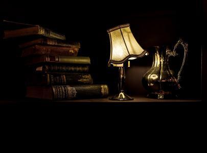 静物, 灯, 光, 照明, 温暖, 发光, 老