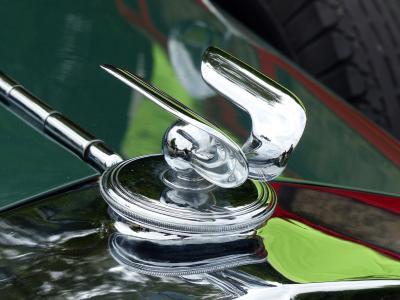 而作, 弗兰克·霍希, 会徽, 酷图, 银, 豪华, 汽车