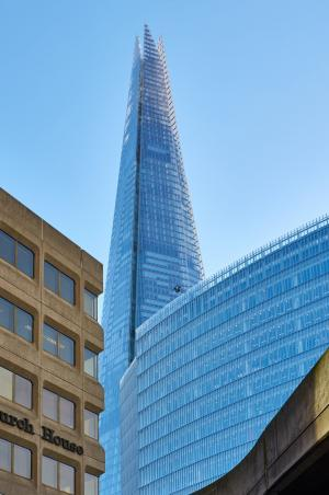 碎片, 伦敦, 摩天大楼, 感兴趣的地方, 英格兰, 玻璃窗口, 英国