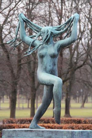 美丽, 神奇, 令人惊叹, 艺术, 公园, 博物馆, 雕塑