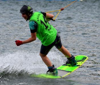 滑水, 滑水泽, b360, 水, 水上运动, 休闲, 体育
