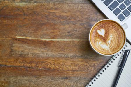 咖啡, 咖啡厅, 表, 食品, 饮料, 工作, 工作