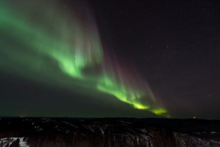 奥罗拉, 北欧化工, 北部, 灯, 自然, 晚上, 天空