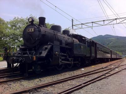蒸汽机车, 火车, 日本, 交通