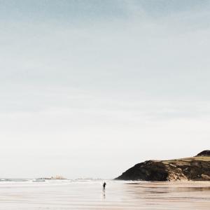 宁静, 水, 海滩, 禅宗, 和平, 海洋, 宁静