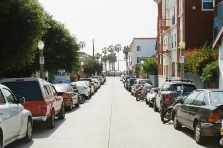 汽车, 停车, 街道, 车辆, 汽车, 城市场景
