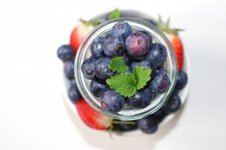 蓝莓, 草莓, 水果, 浆果, 美味, 健康, 水果