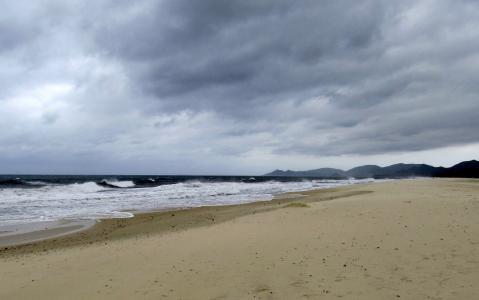 撒丁岛, 哥斯达黎加丽, 海, 期待, 云彩