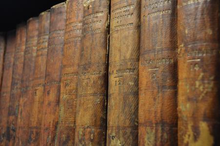 书籍, 老, 图书馆, 远古时代, 经典