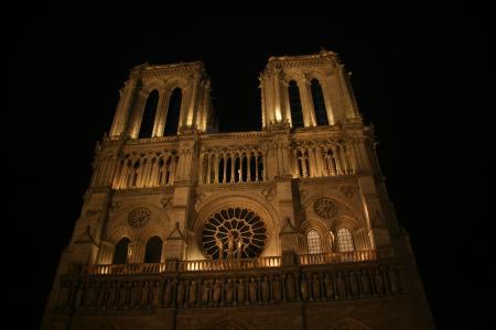 教会, 巴黎圣母院, 圣母院, 大教堂, 法国, 巴黎圣母院, 建筑