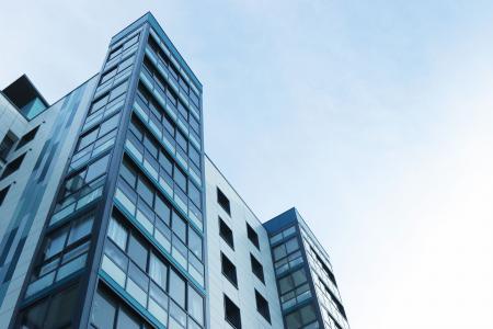 公寓, 公寓楼, 建筑, 建设, 业务, 城市, 晴朗天空