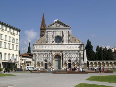 教会, 弗洛伦斯, 托斯卡纳, 建筑, 著名的地方, 欧洲, 老城广场