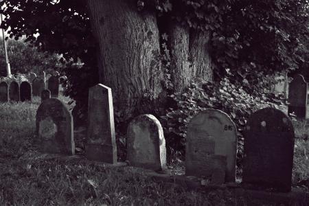 公墓, 犹太人, 墓石, 墓碑, 坟墓, 死亡, 幽灵