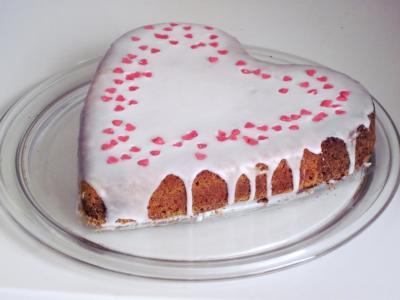 蛋糕, 心, 爱蛋糕, 心脏蛋糕, 爱, 饰品, 吃
