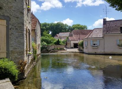 法国, 村庄, 中世纪, 田园, 夏季, 建设, 法语