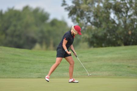 高尔夫, 女孩, 力, 高尔夫球手, 体育