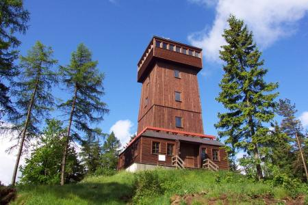 教堂山, vogtland, 观测塔