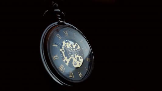怀表, 时钟, 时间, 老, 怀旧, 指针, 古董