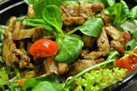 沙拉, 健康, 吃, 食品, 生的食物, 沙拉盘, 羔羊的生菜
