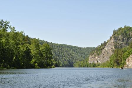 agidel, 乌拉尔, 河, 景观, 山脉, 乌拉尔山脉, 白水河