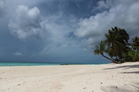 加勒比海, mar, 溶胶, 沙子, 海滩, 自然, 贝拉 mar