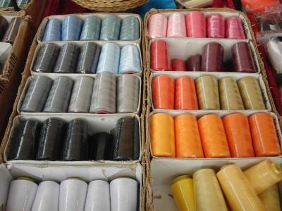纱线, 螺纹线轴, 市场, 颜色, 立场