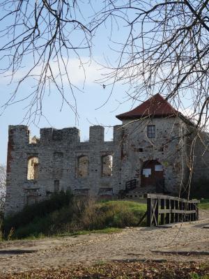 rabsztyn, 波兰, 城堡, 崩溃, 纪念碑, 建筑, 历史