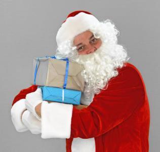 圣诞节, 圣诞节, 圣诞老人, 尼古拉斯, 圣诞老人, 礼品, 包