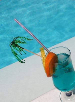 饮料, 水, 蓝色, 新鲜, 感冒, 水果, 假日