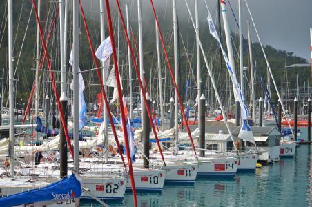 小船, 游艇, 帆船, 种族轮, 哈密尔顿海岛, 容器, 度假