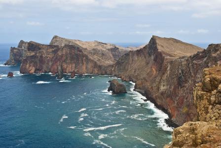 马德拉岛, 岛屿, 葡萄牙, 大西洋, 假日, 线索, 山脉